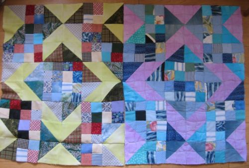 Elizabeth Saunders - two quilts